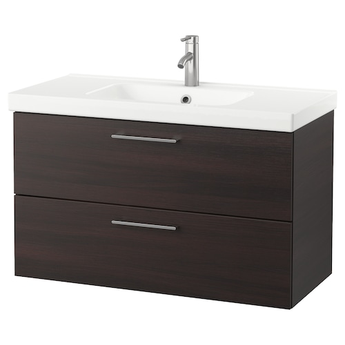 IKEA GODMORGON / ODENSVIK Wash-stand with 2 drawers