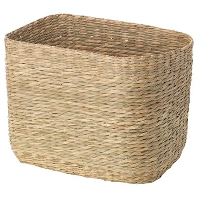 GOTTERN Basket, seagrass, 32x23x23 cm