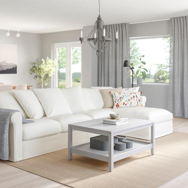 GRÖNLID 4-seat sofa with chaise longue/Inseros white 104 cm 68 cm 164 cm 328 cm 98 cm 126 cm 7 cm 18 cm 68 cm 292 cm 60 cm 49 cm