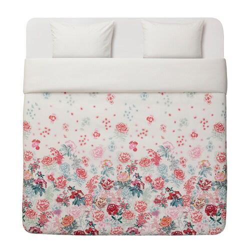 IKEA GRÖNVIDE Quilt cover and 2 pillowcases