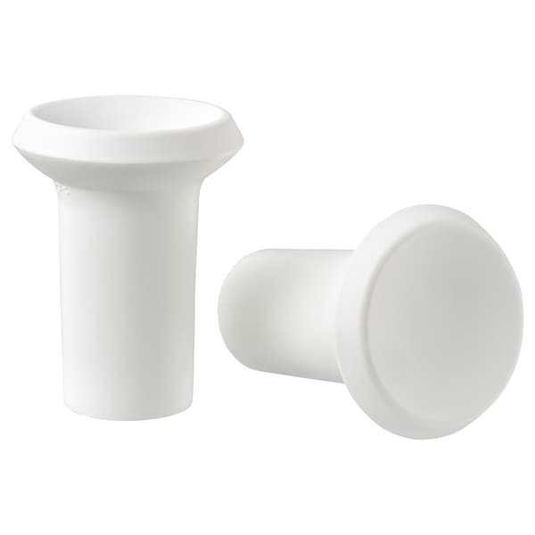 GUBBARP Knob, white, 21 mm