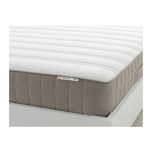 Hamarvik Sprung Mattress Firm Dark Beige