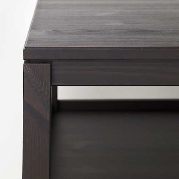 HAVSTA coffee table dark brown 75 cm 60 cm 48 cm