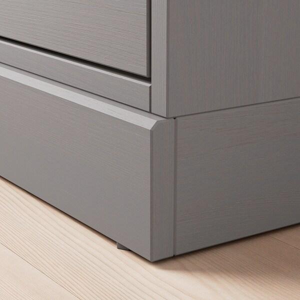 HAVSTA TV bench with plinth grey 160 cm 47 cm 62 cm 50 kg 31 kg