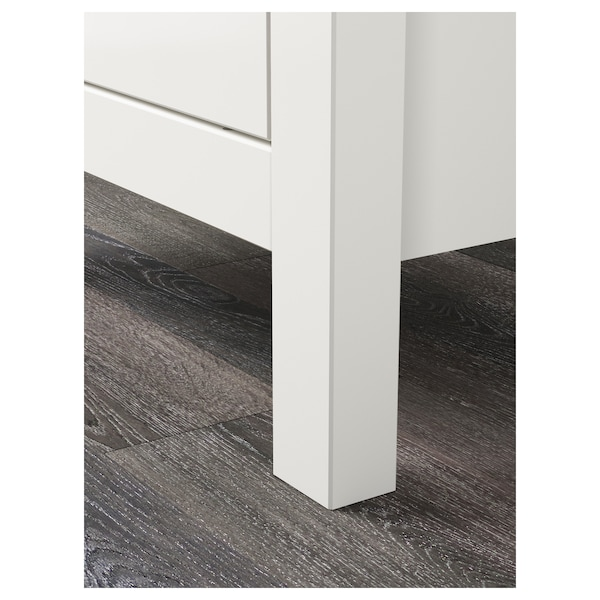 HEMNES chest of 2 drawers white 54 cm 38 cm 66 cm 31 cm