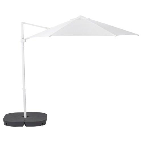 IKEA HÖGÖN Parasol, hanging with base