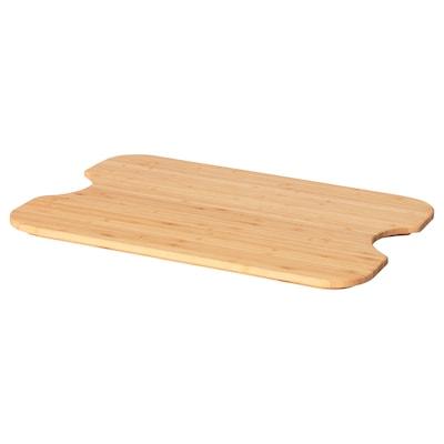 HÖGSMA Chopping board, bamboo, 42x31 cm