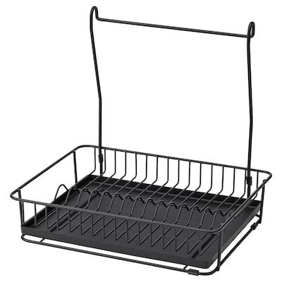 HULTARP Dish drainer, black