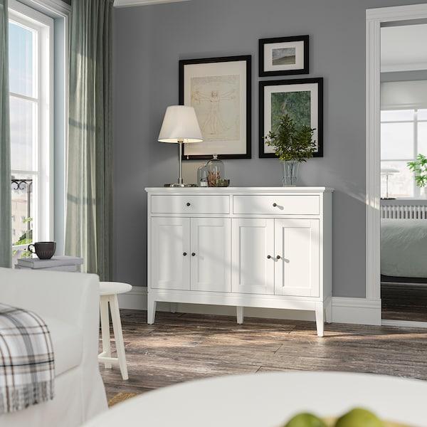 IDANÄS Sideboard, white, 124x50x95 cm