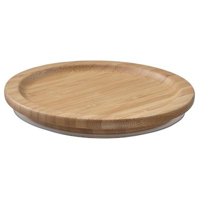 IKEA 365+ lid round/bamboo 14 cm