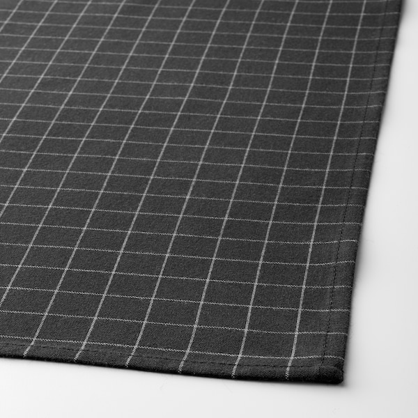 IKEA 365+ tea towel black 70 cm 50 cm 2 pack