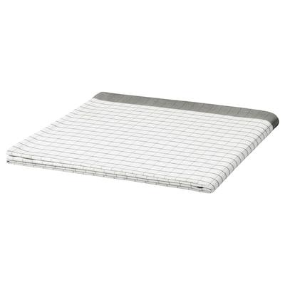 IKEA 365+ Tablecloth, white/grey, 145x145 cm