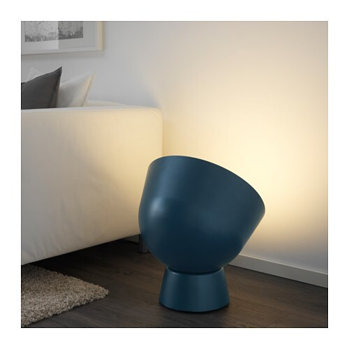 IKEA PS 2017 Floor lamp IKEA You can create an ambiance of cosy light by pointing the lamp against a wall, painting or something you care for a lot.