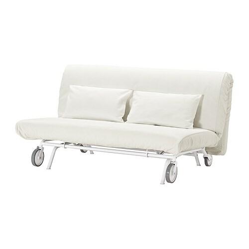 IKEA PS HÅVET Two-seat sofa-bed - Gräsbo white - IKEA