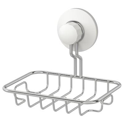 IMMELN soap dish zinc plated 13 cm 11 cm 3 kg