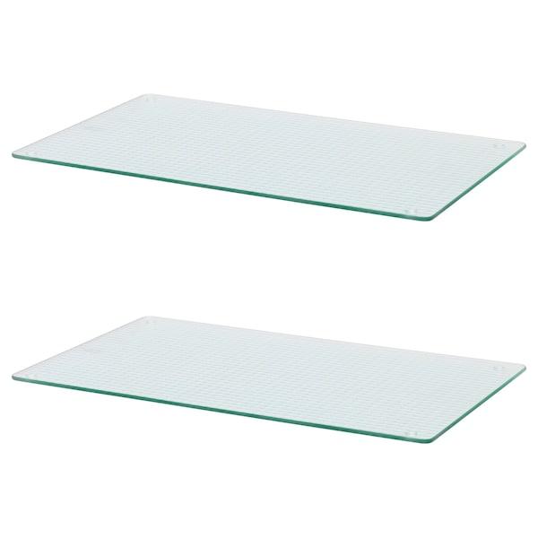 INSUG hob cover glass 52 cm 30 cm 1 cm 2 pack