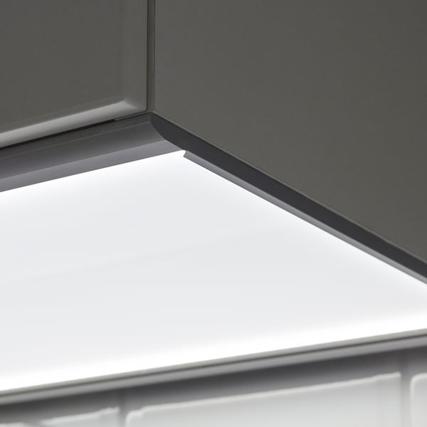 IRSTA LED worktop lighting opal white 300 lm 40 cm 37 cm 8 mm 3.5 m 4.5 W