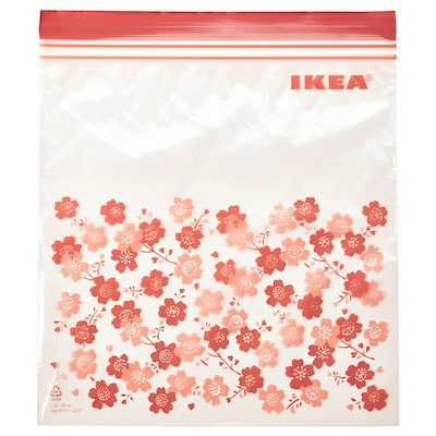 ISTAD Resealable bag, patterned, 2.5 l