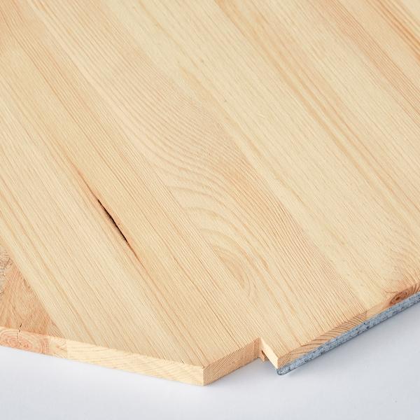 IVAR Corner shelf, pine, 76x76x50 cm