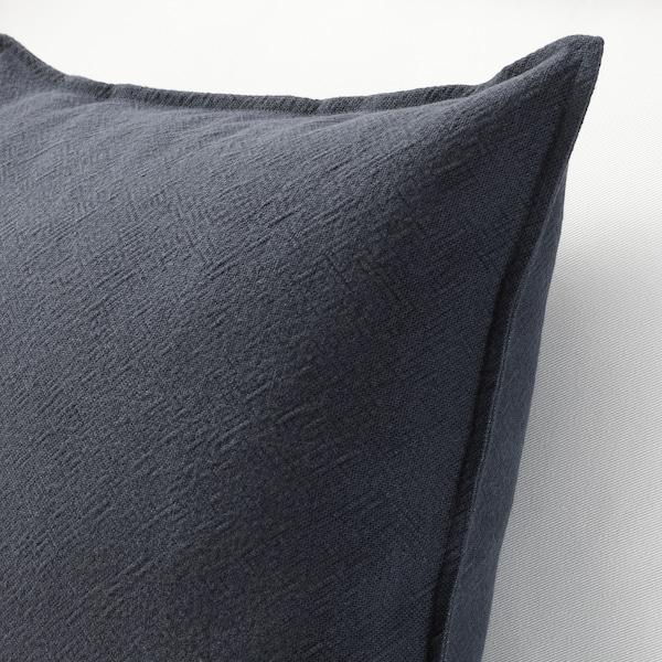 JOFRID cushion cover dark blue-grey 50 cm 50 cm