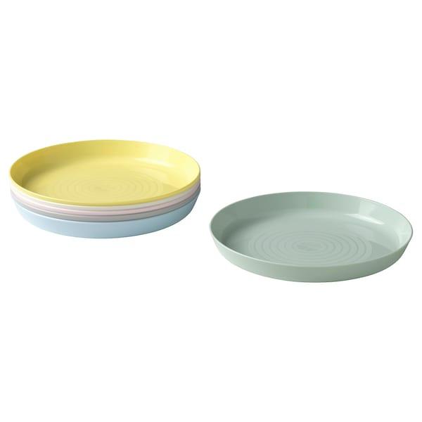 KALAS Plate, mixed colours