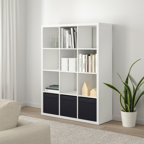 KALLAX Shelving unit, white, 112x147 cm