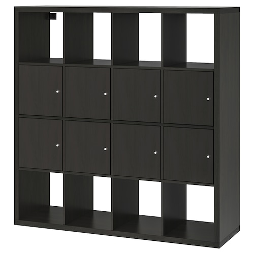 IKEA KALLAX Shelving unit with 8 inserts