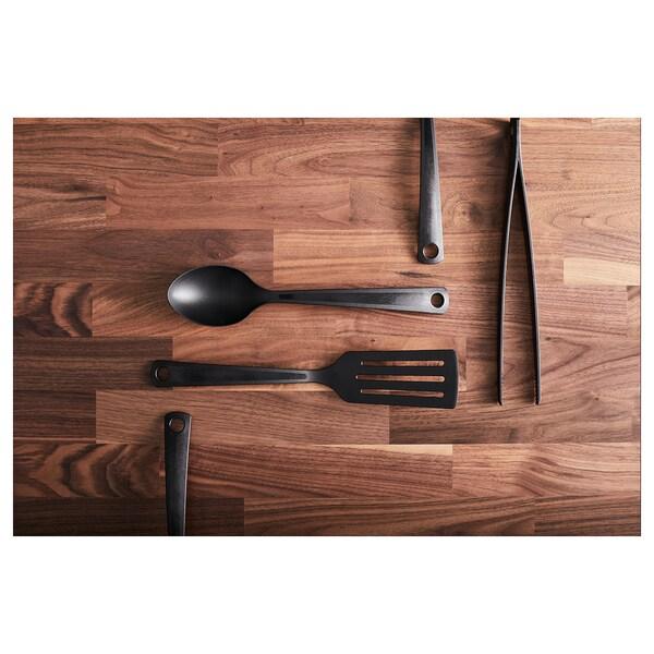 KARLBY Worktop, walnut/veneer, 246x3.8 cm