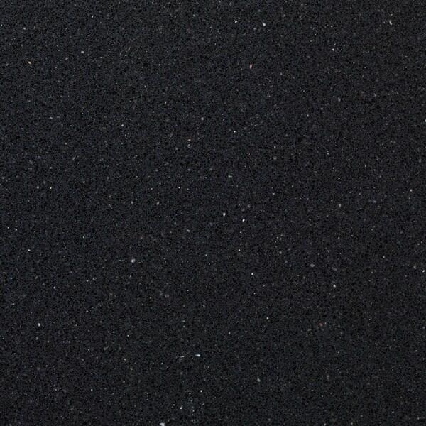 KASKER custom made worktop black stone effect/quartz 100 cm 20 cm 295 cm 10.0 cm 135.0 cm 2.0 cm 1 m²