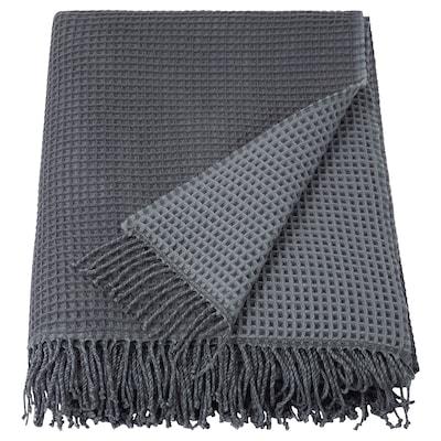 KERSTI Throw, light grey, 150x200 cm