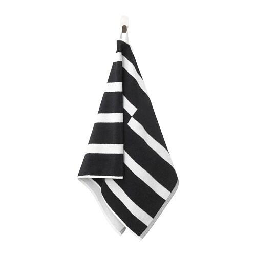 Kinnen Hand Towel Black White
