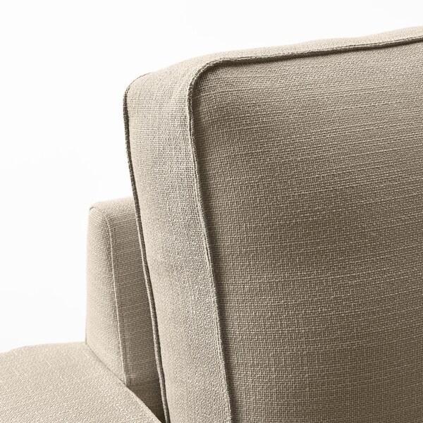 KIVIK corner sofa, 5-seat Hillared beige 95 cm 83 cm 297 cm 257 cm 60 cm 45 cm 24 cm