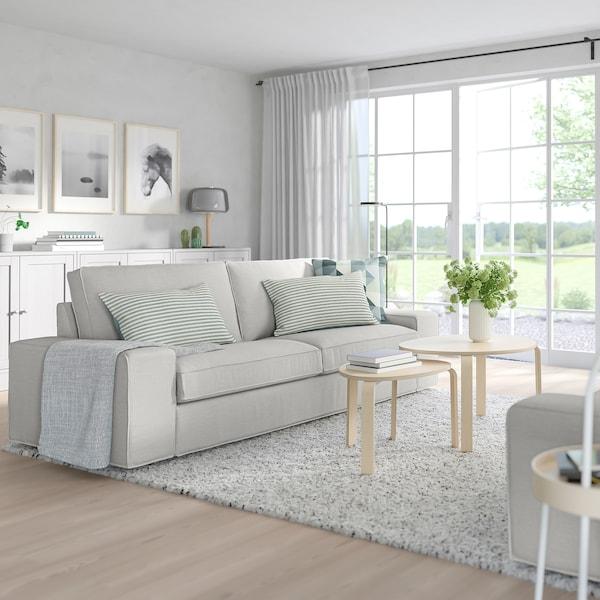 KIVIK three-seat sofa Orrsta light grey 228 cm 95 cm 83 cm 180 cm 60 cm 45 cm