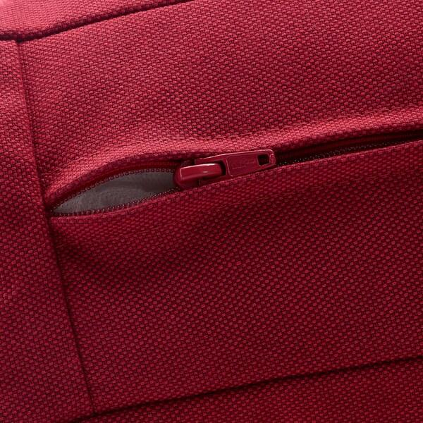 KIVIK Three-seat sofa, Orrsta red
