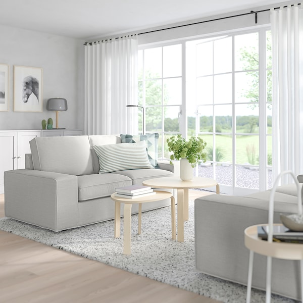 KIVIK Two-seat sofa, Orrsta light grey