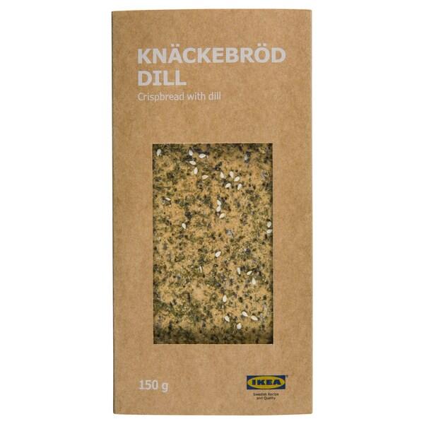 KNÄCKEBRÖD DILL crispbread with dill 150 g