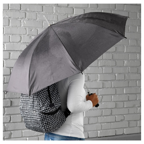 KNALLA umbrella black 80 cm 105 cm