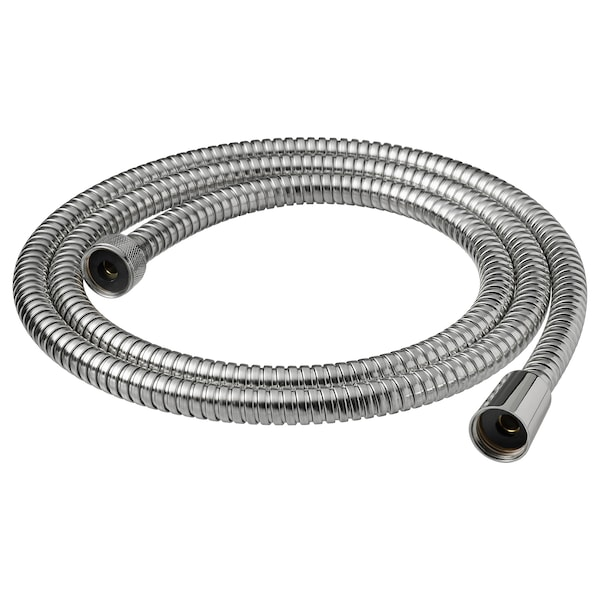 KOLSJÖN shower hose chrome-plated 1500 mm