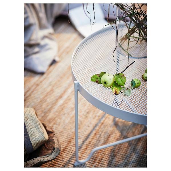 KROKHOLMEN coffee table, outdoor beige 44 cm 73 cm