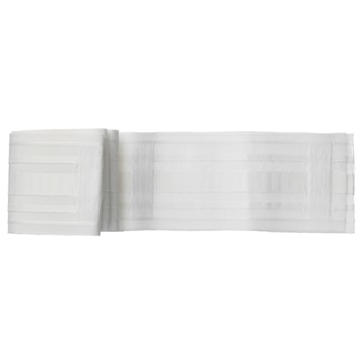 KRONILL Pleating tape, white, 8.5x310 cm