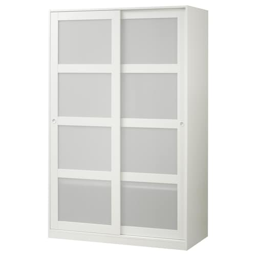 IKEA KVIKNE Wardrobe with 2 sliding doors