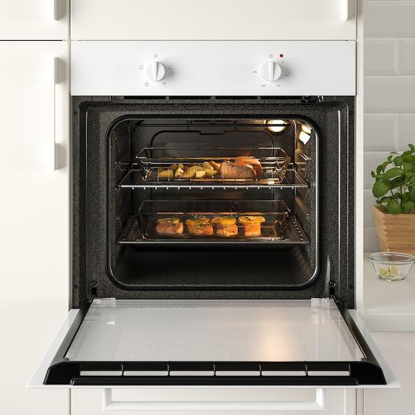 LAGAN oven white 59.4 cm 56.0 cm 58.9 cm 82 cm 55 l 26.20 kg