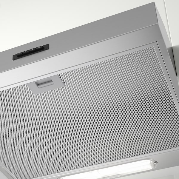 LAGAN wall mounted extractor hood stainless steel 13 cm 13 cm 13 cm 13 cm 60 cm 51 cm 1.33 m 6.40 kg