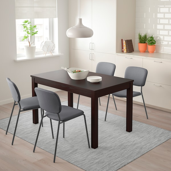 LANEBERG extendable table brown 130 cm 190 cm 80 cm 75 cm 40 kg
