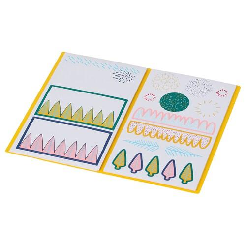 IKEA LANKMOJ Folder with stickers