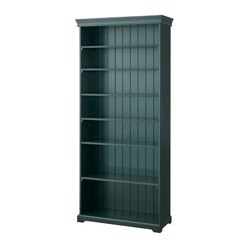 Liatorp Bookcase Dark Olive Green Ikea