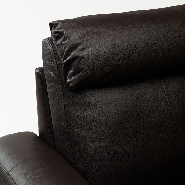 LIDHULT armchair Grann/Bomstad dark brown 102 cm 76 cm 119 cm 98 cm 7 cm 71 cm 53 cm 45 cm