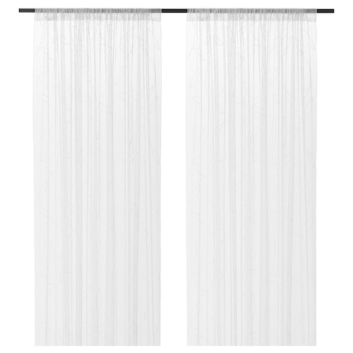 IKEA LILLEGERD Sheer curtains, 1 pair