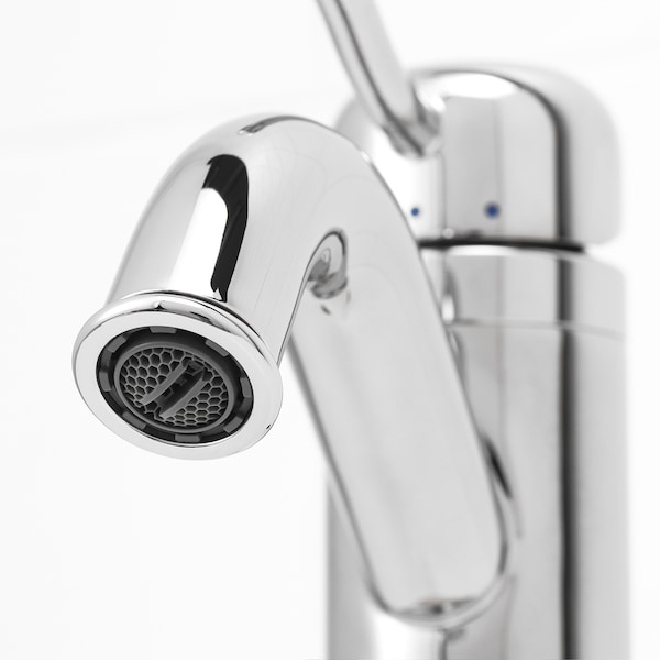 LILLSVAN wash-basin mixer tap with strainer chrome-plated 12 cm