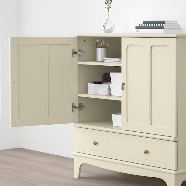 LOMMARP Cabinet, light beige, 102x101 cm